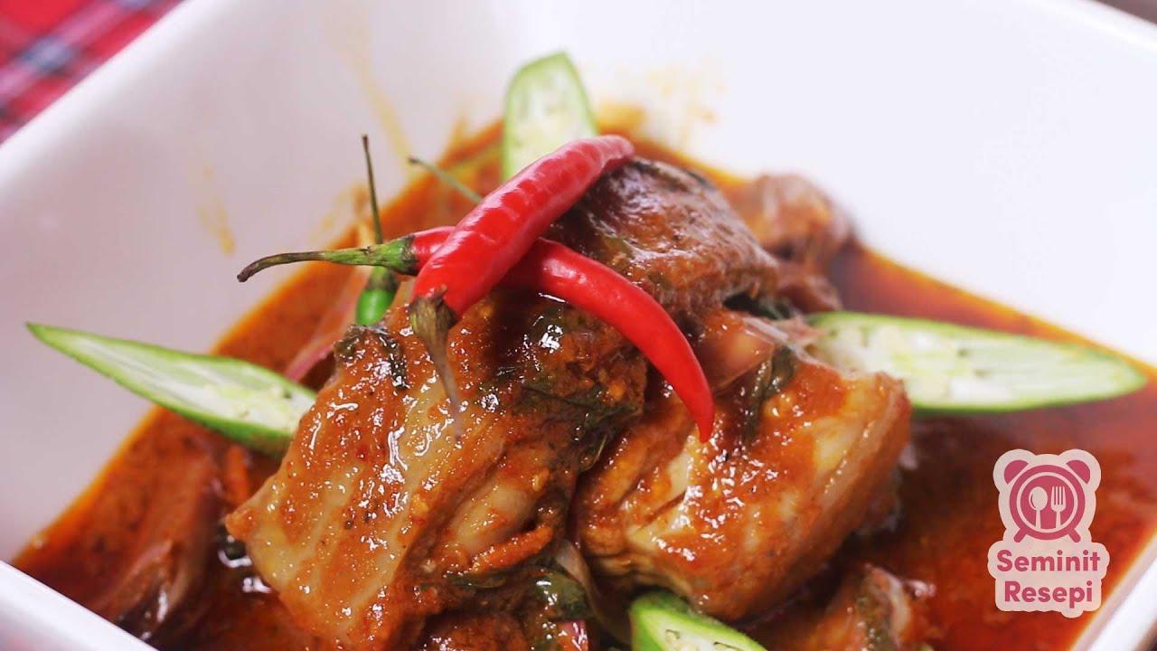 resepi ikan pari masak asam pedas melaka resep bunda erita Resepi Ikan Pari Bakar Melaka Enak dan Mudah