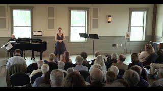 'In uomini, in soldati' from Mozart's Cosi Fan Tutte by soprano Greta Feeney