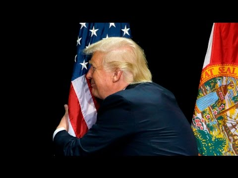 Image result for trump kiss flag