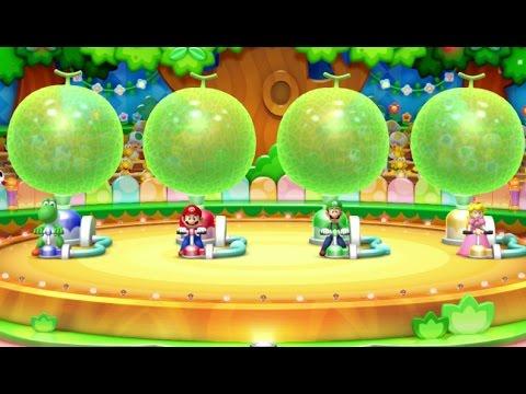 Mario Party 10 - Yoshi amiibo Board (2 Player amiibo Party Mode)