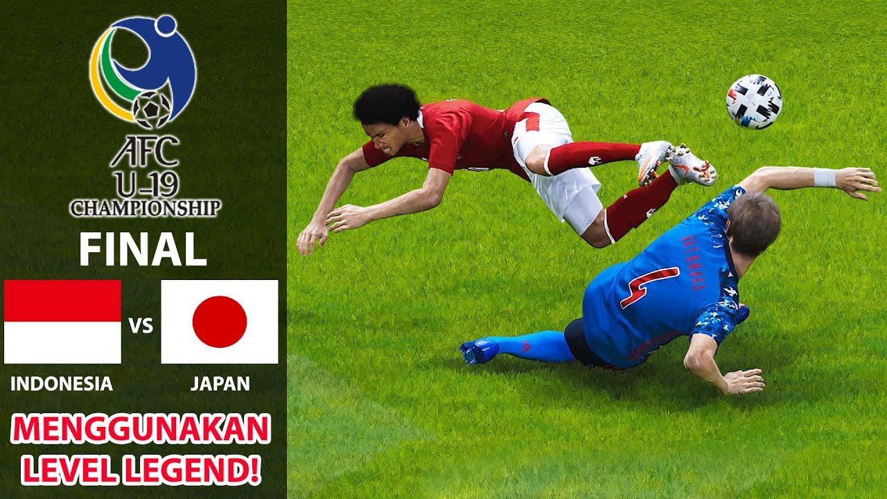 INDONESIA VS JAPAN   FINAL PIALA ASIA U-19   PANAS, KERAS DAN BRUTAL! PENUH DENGAN TACKLE GILA (END)