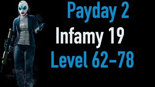 Payday 2 Infamy 19 | Part 2 | Level 62-78 | Xbox One