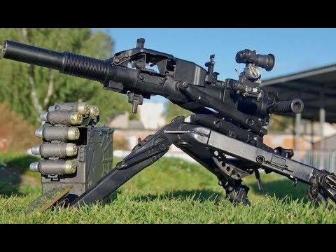 Топ 5 автоматических гранатометов мира   Top 5 Automatic Grenade Launchers
