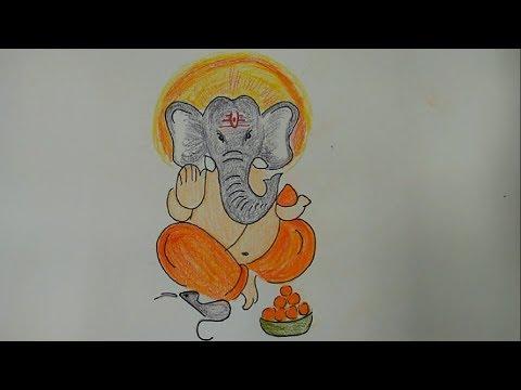 Ganesha Drawing For Kid