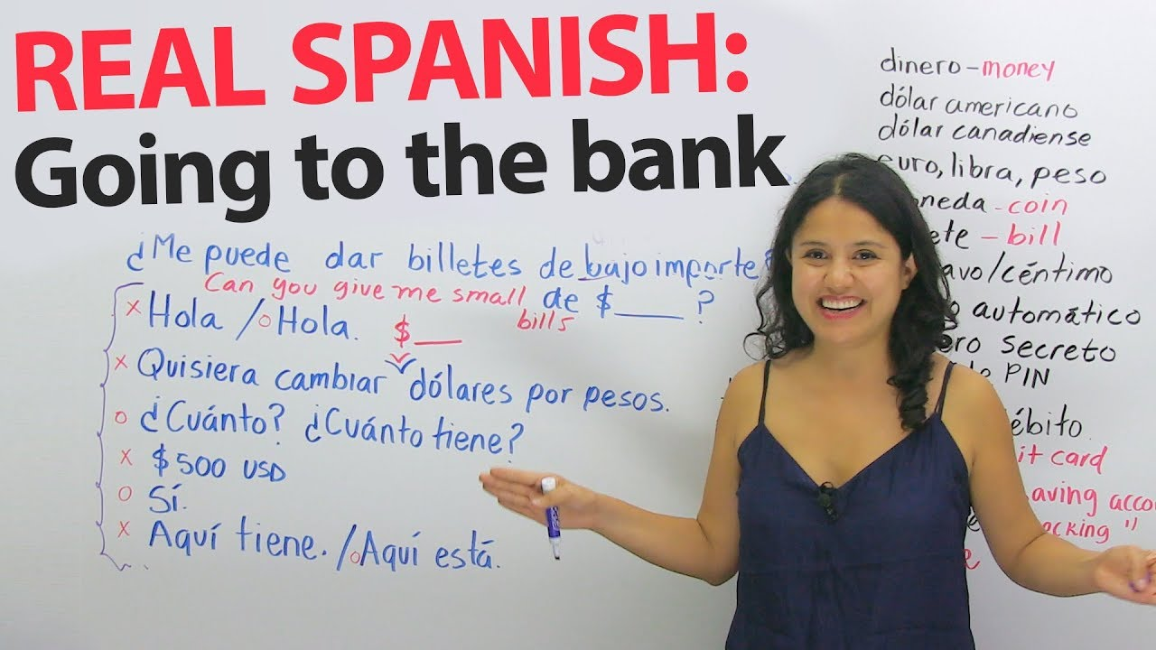43 Libras En Euros Money Exchange And Banking Vocabulary Phrases In Spanish