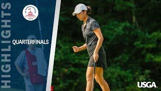 Highlights: 2019 U.S. Women's Amateur Quarterfinals