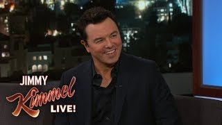 Seth MacFarlane Smoked Weed with His Parents