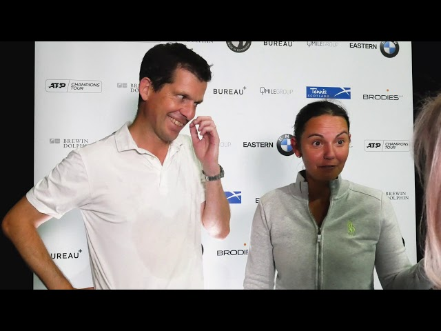 Keothavong & Henman v Monami & Leconte: Brodies Tennis Invitational 2019