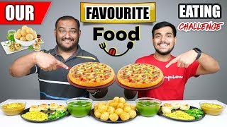 VIWA BROTHERS FAVOURITE FOOD EATING CHALLENGE   Golgappa Challenge   Pizza Eating Challenge