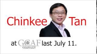 Chinkee Tan at GCAF | 7.11.2014