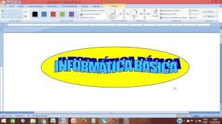 Criando uma logomarca no word 2007