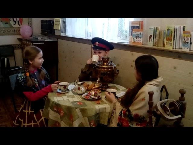 Изображение предпросмотра прочтения – «Ученики МБОУ СШ №18» читает произведение «Скороговорки» (Русский фольклор )