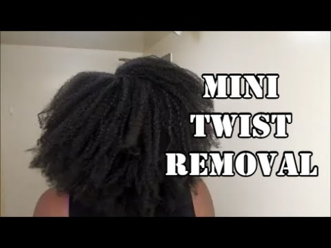 remove mini twists safely