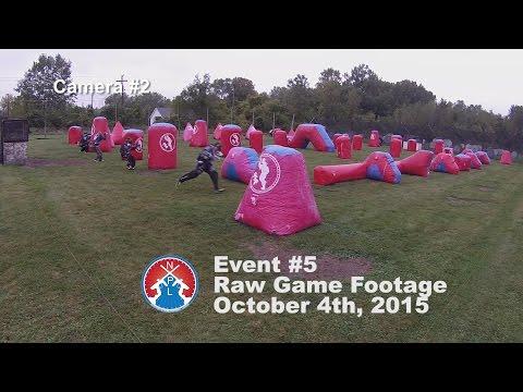 NXPL Event #5 Raw GoPro Footage Camera #2 Lone Wolf Paintball Michigan