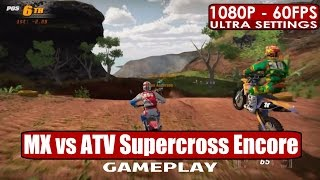 MX vs ATV Supercross Encore Edition gameplay PC HD [1080p/60fps]