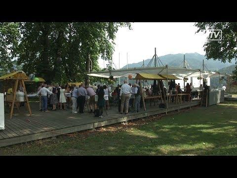 50er - Feier von Bundesminister Jörg Leichtfried am Schloßberg in Bruck