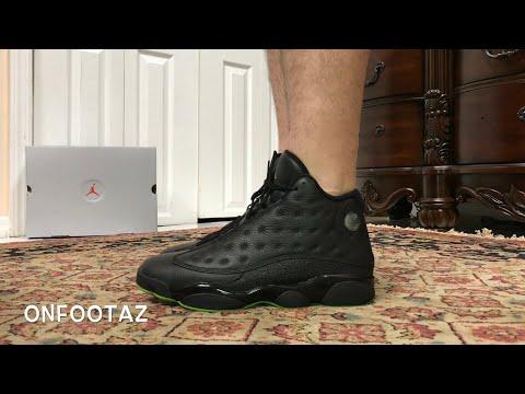 hot sale online 205ea 4a1f8 Air Jordan 13 XIII Altitude 2017 On Foot