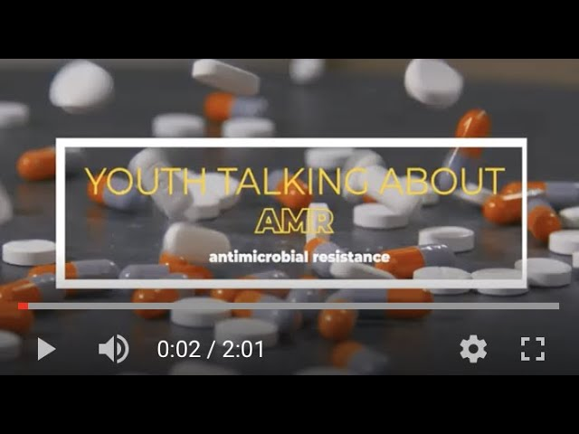 Youth start talking about AMR in the Global South