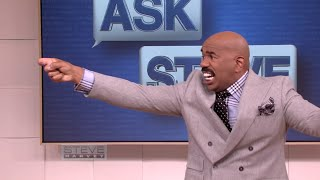 Ask Steve: Shoot at her! || STEVE HARVEY