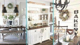 ❤ DIY Rustic Shabby chic style  Dining Room decor Ideas ❤ | Kitchen decor Ideas | Flamingo Mango