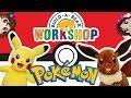 Gotta Stuff Em All! ~ Pokemon Build-a-Bear Trip! Pikachu and Eevee! Cute/kawaii stuffed animals