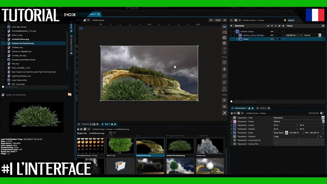 Smode Tutorial | Real Time Compositing Software | #1 Apprendre l'interface