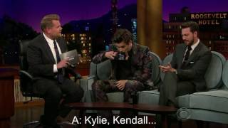Harry Styles - The Late Late Show [Kardashians part] (Subtitulado español)