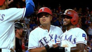 CHW@TEX: Rangers score 17 runs in win over White Sox thumbnail
