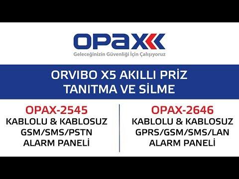 OPAX-2545 ve OPAX-2646 Orvibo X5 Akıllı Priz(Soket) Tanıtma ve Silme
