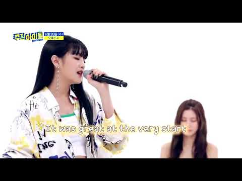 (G)I-DLE Yuqi And Minnie Sing Scared To Be Lonely (Martin Garrix & Dua Lipa)