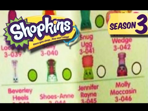 It's just a graphic of Effortless Shopkins Season 3 List Printable