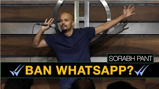 Uncles on WhatsApp?   Standup Comedy   Sorabh Pant