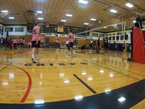 Massapequa High School Varsity Volleyball- 10/23/19 clip 1
