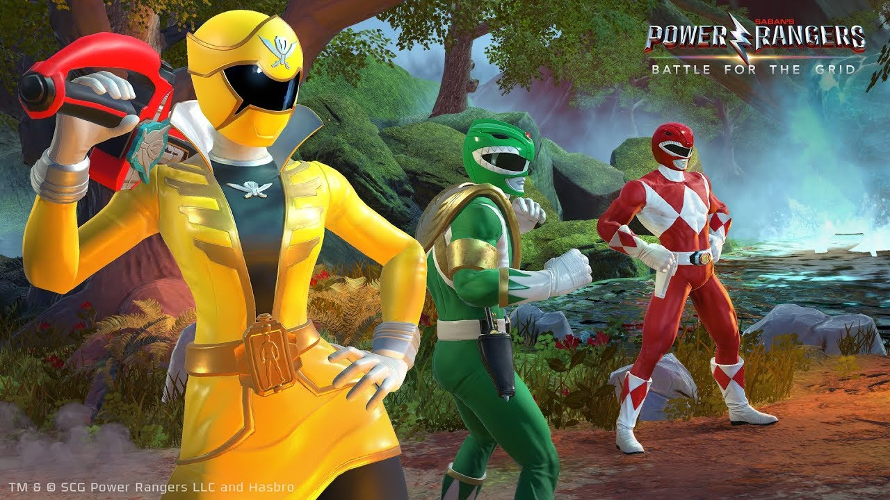 Power Rangers Battle For The Grid Gameplay Reveal Youtube