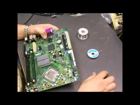 hqdefault dell optiplex motherboard repair youtube dell optiplex gx620 wiring diagram at webbmarketing.co