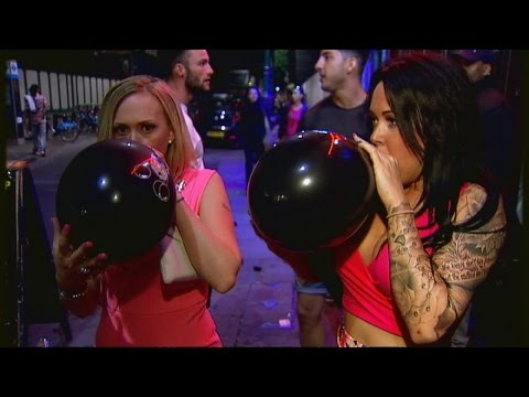 Laughing Gas Vendors: Having A Laugh At The Law's Expense? | Channel 4 News
