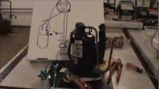 Wiring Refrigerator Compressor for DIY Air Compressor