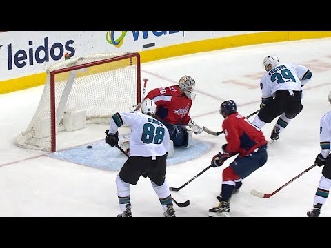 Logan Couture shows off deft touch on breakaway