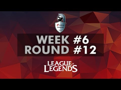 A1 Adria League  LoL Group Stage  Week #6  Round 12