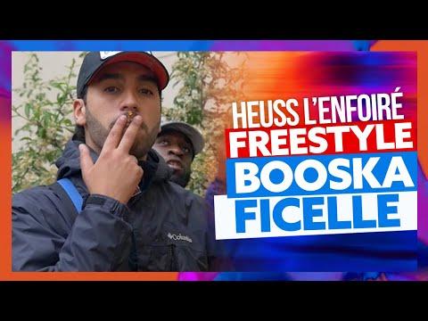 Heuss L'enfoiré | Freestyle Booska Ficelle