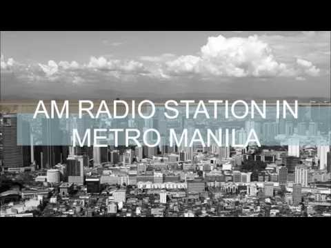 AM Radio Station in Metro Manila [2016]