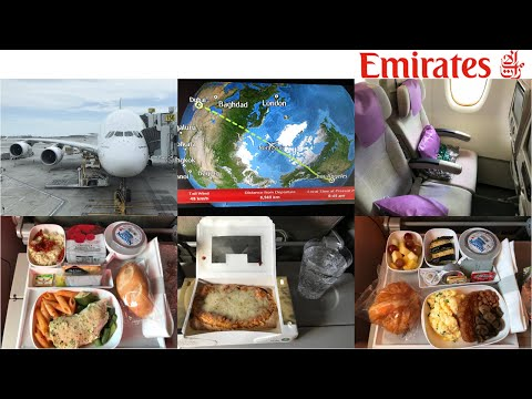 Emirates Airline: Los Angeles to Dubai