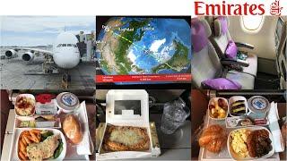 Emirates Airline ECONOMY Class: Los Angeles to Dubai