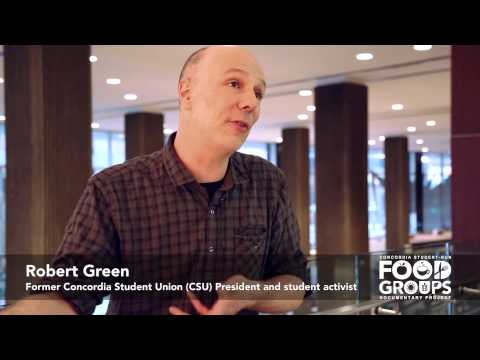 Robert Green on Concordia's History With Multinational Food Corporations