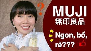 [Mỹ phẩm Nhật Bản] Sản phẩm MUJI có tốt không?? | Review sản phẩm MUJI