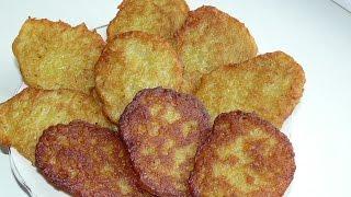 Постные драники из картошки без яиц САМЫЙ ПРОСТОЙ РЕЦЕПТ. Драники картофельные ( постные блюда)
