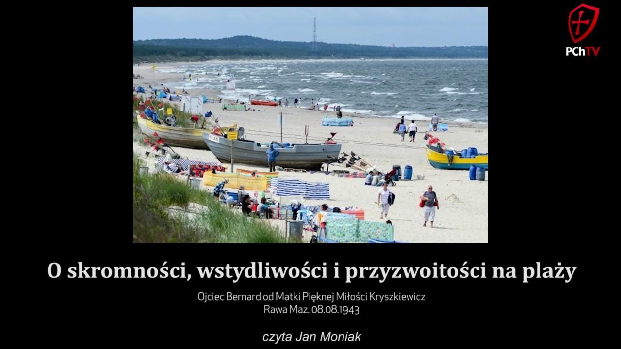 O skromności, wstydliwości i przyzwoitości na plaży - PCh24