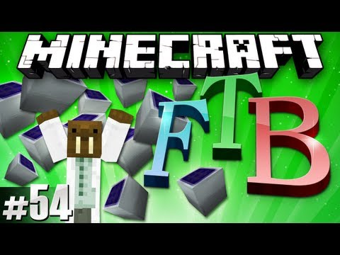 Minecraft Feed The Beast #54 - More Solar Arrays?!