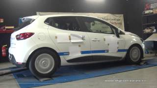 Renault Clio 4 1.5 dci 75cv Reprogrammation Moteur @ 120cv Digiservices Paris 77 Dyno