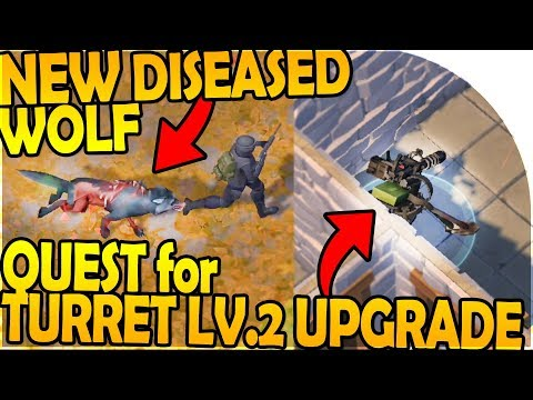 NEW DISEASED WOLF + OAK EVENT - TURRET LV.2 UPGRADE QUEST - Last Day On Earth Survival 1.7.9 Update